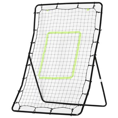 Soozier Multi-Sport Rebounder Net Pitchback Screen Return Trainer