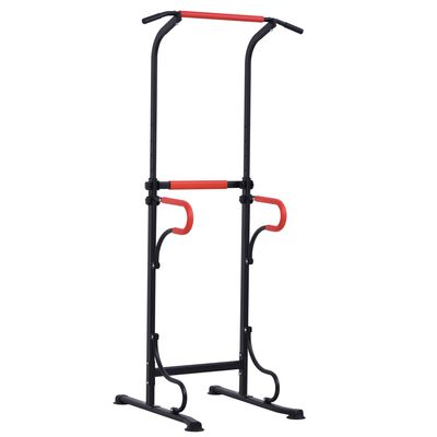 Soozier Power Tower Station Pull Up Bar for Home Gym Workout Equipment