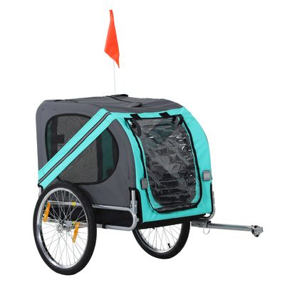 Aosom Pet Bicycle Trailer Dog Cat Bike Carrier Pet Bicycle Trailer Dog Cat Bike