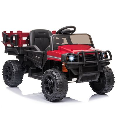 12V Kids Electric Ride On Car Pickup Truck Toy with Remote Control for 3-8 Yrs