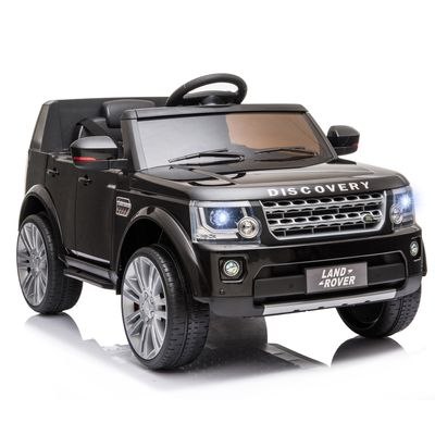 Aosom Landrover Kids Electric Ride On Car for 3-6 Years Old Black