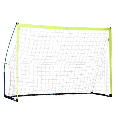 Soozier 8.6ft Football Goal with All Weather PE Net for Football Practice Teens Adults Outdoor Sport Activety