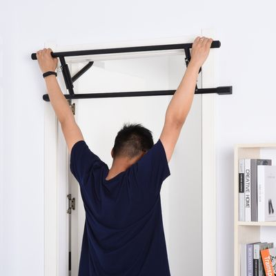 Soozier Pull Up Bar Multifunctional Portable Gym System with Strong Hook Structure