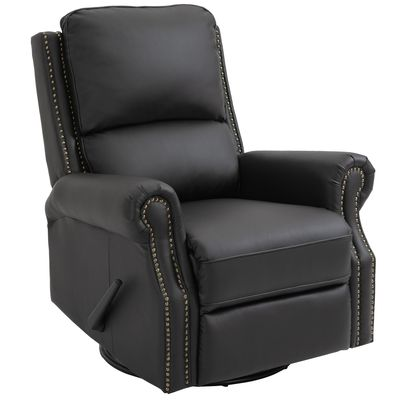 HOMCOM Manual Recliner Chair Armchair Sofa for Home Theater Office Living Room