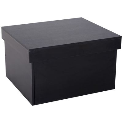 HOMCOM Ample Capacity Shoe Cabinet Box Bench w/ Drawers Particleboard Black