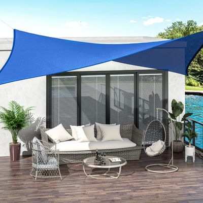 """Details about  /Patio Sun Shade Sail Square Canopy Patio Outdoor Garden Awning Free Rope 70/"""""""