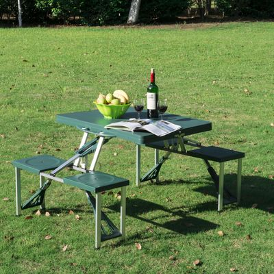 Easy Camp Provence Picnic Table /& Chairs Set Set Camping Furniture Set 540010