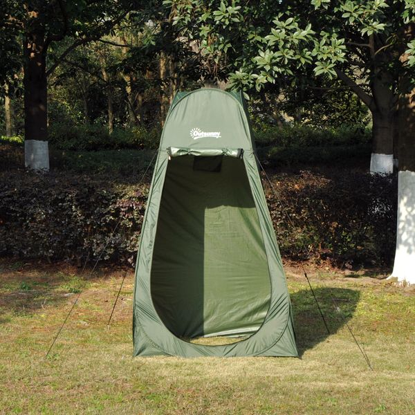 Outsunny Pop up Shower Tent Outdoor | Aosom Canada