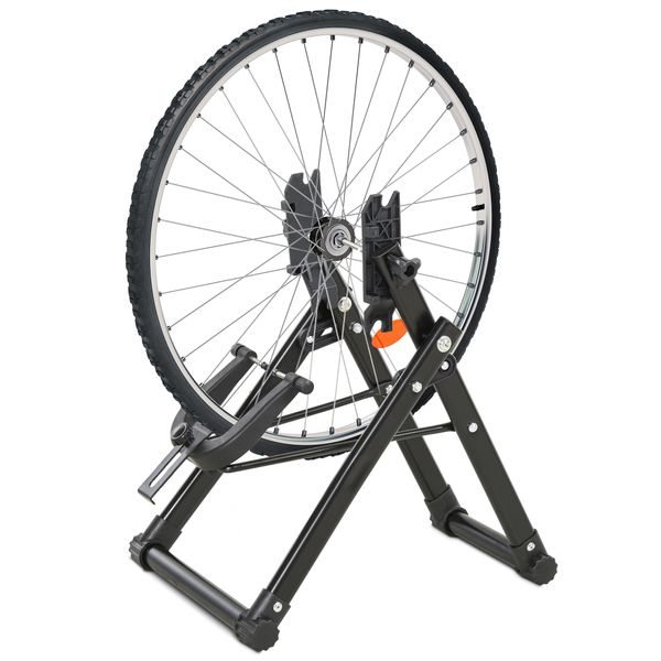 Soozier Heavy Duty Metal Foldable Adjustment Circle Fits 20-29 Inch Tires|Aosom Canada