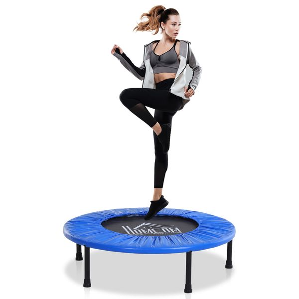 """Soozier 40"""" Trampoline Safety Fitness Gym Exercise Kids Indoor Outdoor Jumper 