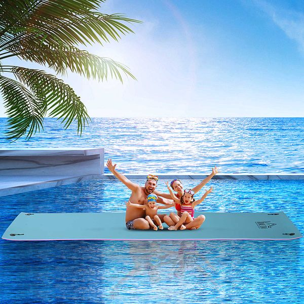 HOMCOM Floating Water Mat Float Pad Used in Lake Pool Water Beach Sea Ocean for Adults and Kids | Aosom Canada