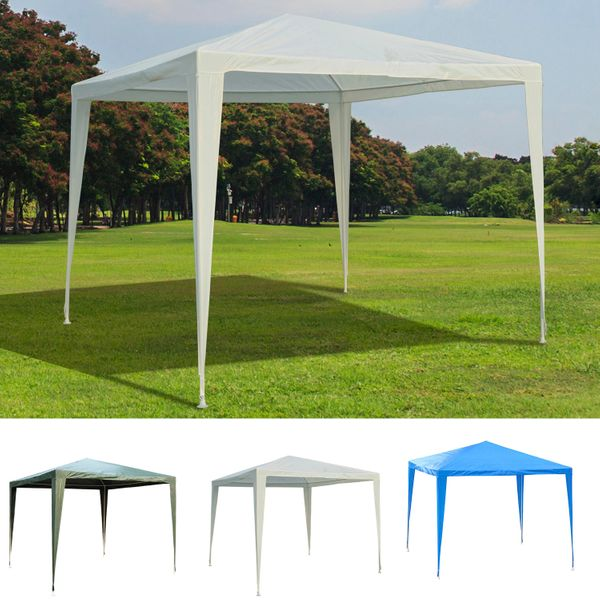 Outsunny 9x9ft Party Tent Portable Sunshade with Carrying Bag|AOSOM.CA