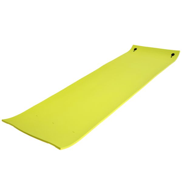 Soozier 16.4FT Floating Water Mat Float Pad Used in Lake Pool Water Beach Sea Ocean for Adults and Kids Yellow | Aosom Canada