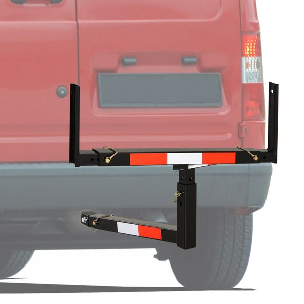 Soozier Suspended Truck Bed Extender with Adjustable Width and Height For Ladder Rack Canoe Kayak Long Pipes and Lumber | Aosom Canada