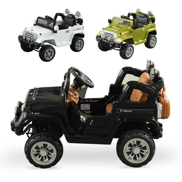 Aosom 12V Kids Electric Ride On Toy 2 Speed Lights MP3 with Remote Control | Aosom Canada