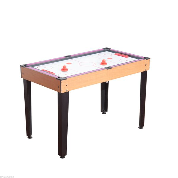 HOMCOM Multifunction 3 in 1 Multi-use Mini Games Table with adjustable levelers Tennis Billiard Pool Air Hockey Set with All Accessories | Aosom Canada