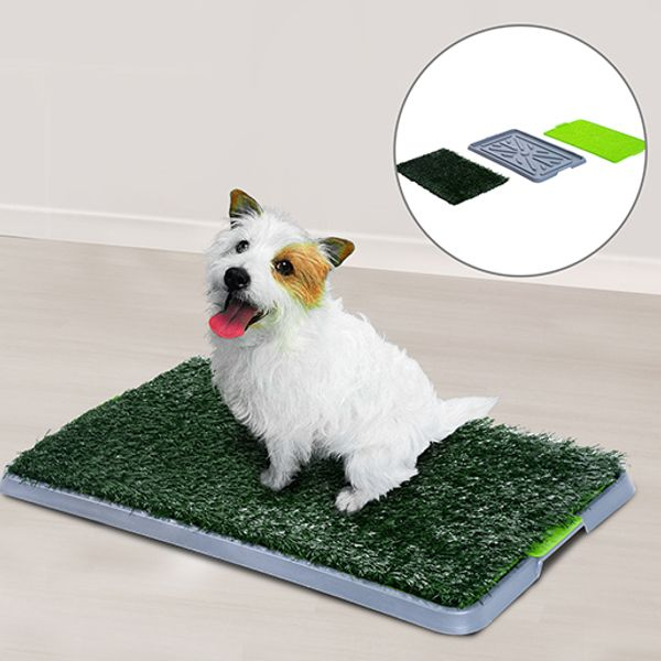 PawHut Indoor Dog Potty Trainer Toilet Pet Mat 3 layer Eco-friendly & Anti-slip | Aosom Canada