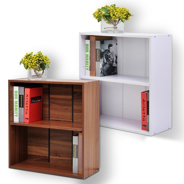 Wood Small Bookshelf Home Office Furniture|Aosom Canada