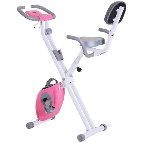 Soozier Indoor Magnetic Upright/ Recumbent Exercise Bike with Tablet Holder|AOSOM.CA