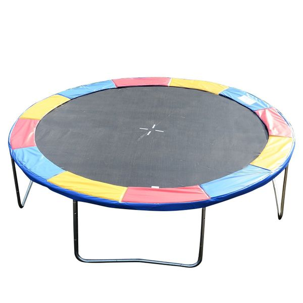 HOMCOM Round Trampoline Pad 14ft Outdoor Bounce Jump Safety Frame Exercise Replacement