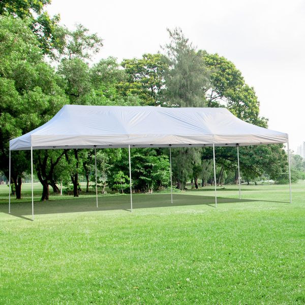 Outsunny 29'x10' Pop Up Canopy Party Wedding Event Tent Portable with Carrying Bag|Aosom Canada