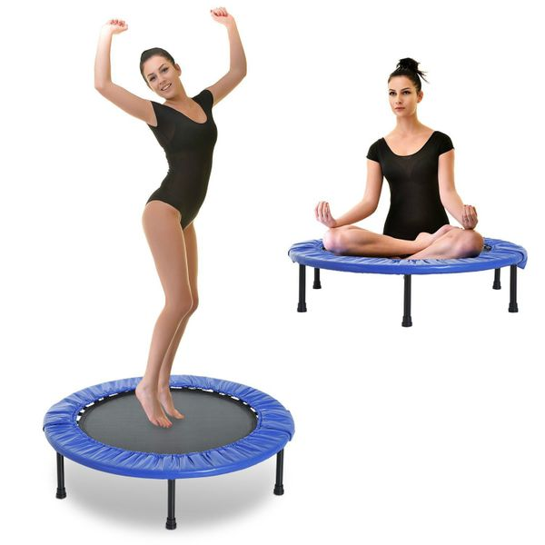 "Soozier 40"" Trampoline Safety Fitness Gym Exercise Kids Indoor Outdoor Jumper