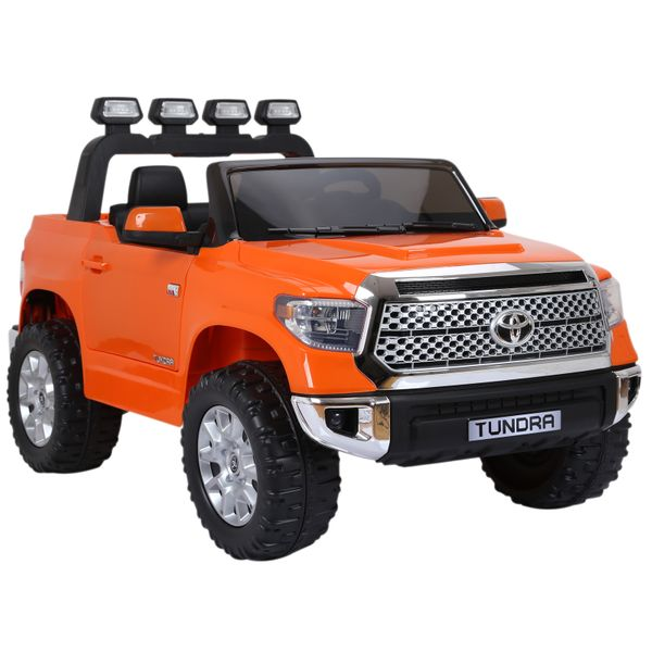 Aosom Electric Ride On Cars Licensed Toyota Tundra Kids Ride On Truck Electric Car w/ Remote Suspension Wheels Music Function|Aosom Canada