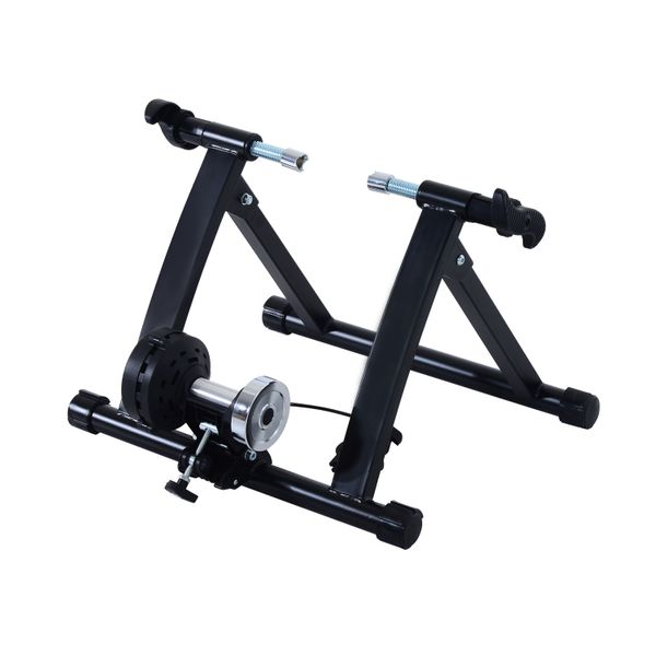 Adjustable 5 Level Resistance Magnet Bike Bicycle Indoor Exercise Trainer Stand