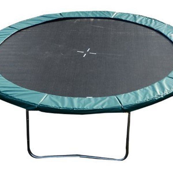 HOMCOM 14FT Trampoline Pad Trampolining Replacement Jump Bounce Exercise GYM (Green)|Aosom Canada