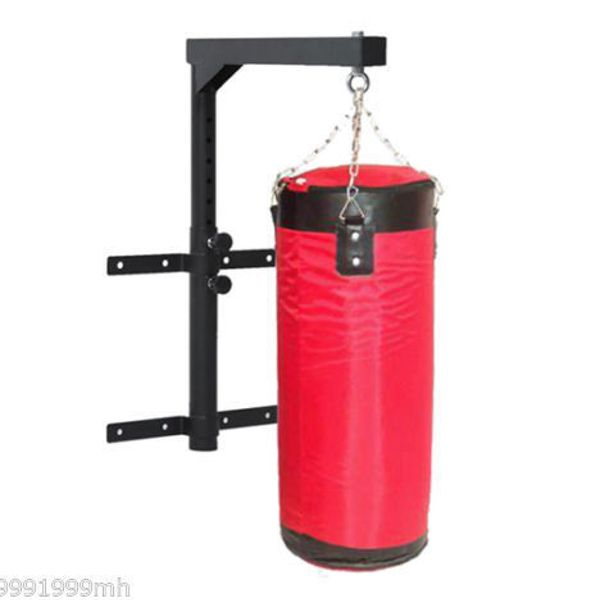 Soozier Punch Bag Bracket Wall Mount 220lbs Heavy Boxing Hanger MMA Training Sport Holder Black | Aosom Canada