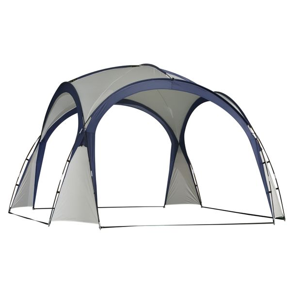 Outsunny Outdoor Event Dome Shelter UV Protection Portable|AOSOM.CA