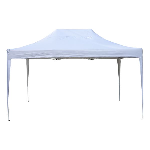 Outsunny 10'x15' Easy Pop Up Canopy Patio Party Tent Outdoor Shelter Portable|Aosom.ca