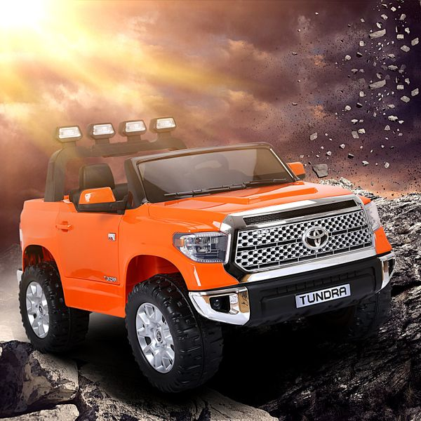 Aosom Licensed Toyota Tundra Kids Ride On Truck Electric Car w/ Remote  Suspension Wheels  Music Function|Aosom Canada