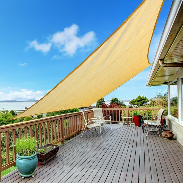Outsunny Outsunny 9.8' Square Shade Sails | Aosom Canada