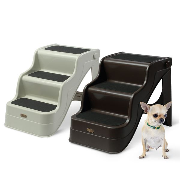 PawHut Pet Stairs Portable Home Travel|AOSOM.CA
