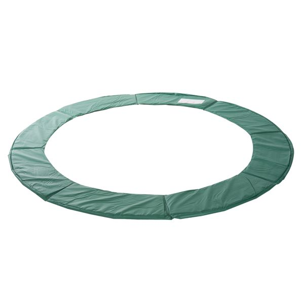 Soozier Φ8ft Trampoline Pad Spring Safety Replacement Gym Bounce Jump Cover EPE Foam Green|Aosom Canada