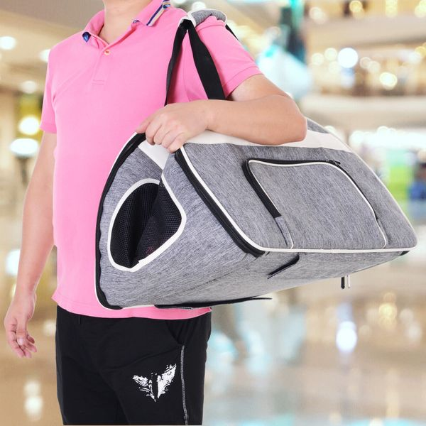 PawHut Pet Carriers Wheel Luggage Bag Outgoing Travel Multi-way to carry Portable | Aosom Canada