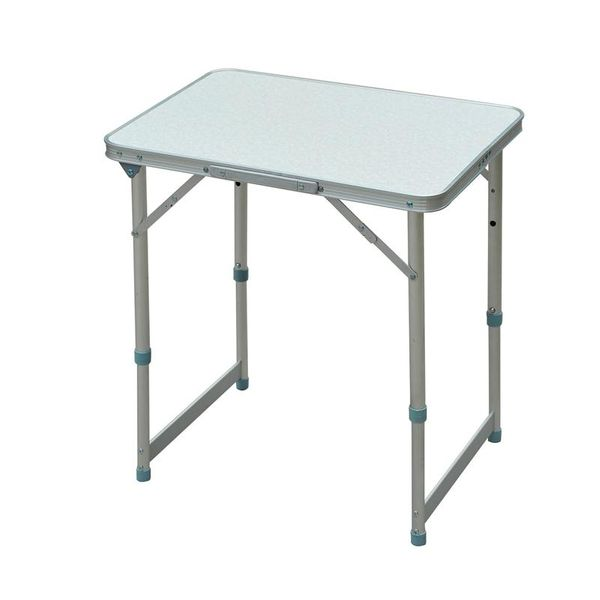 Outsunny Patio Dining Sets Outdoor Portable Folding Camping Rectangle Aluminum Picnic Table | Aosom