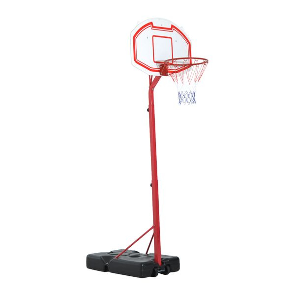 Aosom Youth Indoor / Outdoor Adjustable Basketball Hoop 10ᄀᆵ Height Portable Training System / height adjustable basketball hoop | Aosom