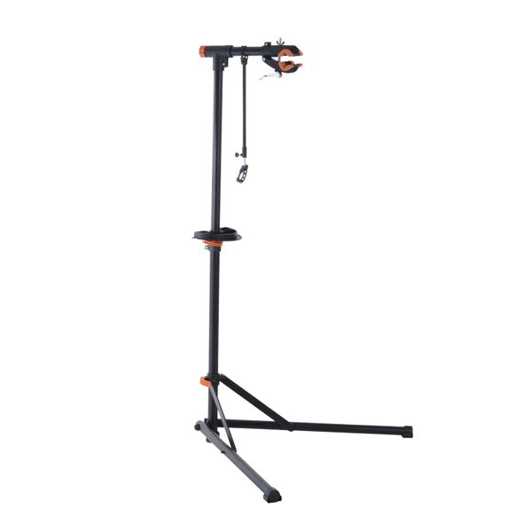 """Aosom 39"""" to 63"""" Telescopic Arm Bicycle Cycle Rack Pro Bike Repair Stand Adjustable 