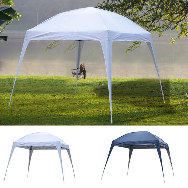 9.75' Large Dome Outdoor Portable Folding Sun Shade Pop Up Tent Canopy|AOSOM.COM