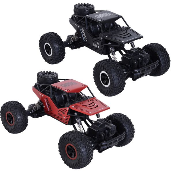 1:16 Scale 2.4Ghz 4WD RC Rock Crawler Off-Road Electric Monster Truck|AOSOM.COM
