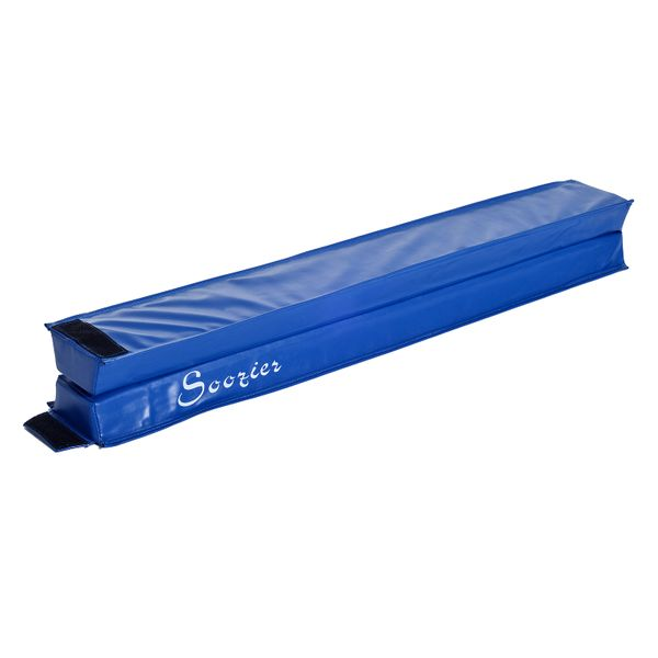 Soozier 8ft Folding Gymnastics Floor Balance Beam|AOSOM.COM