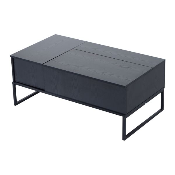 "HomCom 43"" Modern Lift-Top Coffee Table