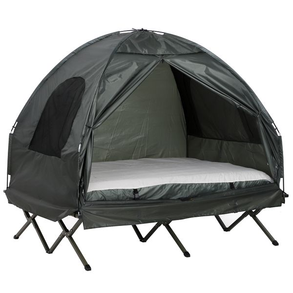 Outsunny 2 Person Compact Pop Up Portable Folding Outdoor