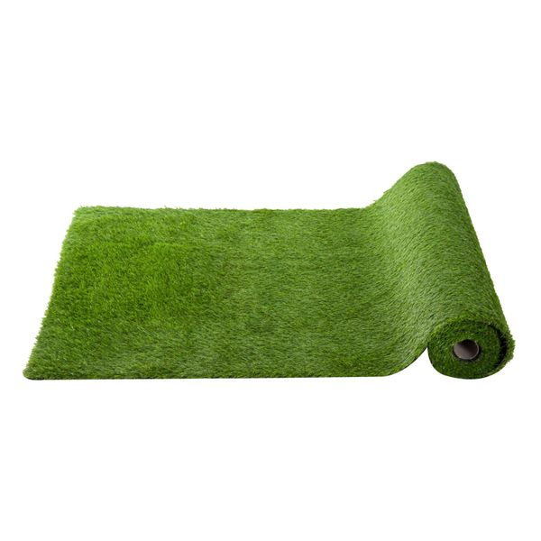 Outsunny 32sqft Garden Fake Grass Synthetic Turf Artificial Lawn W/Drainage|AOSOM.COM