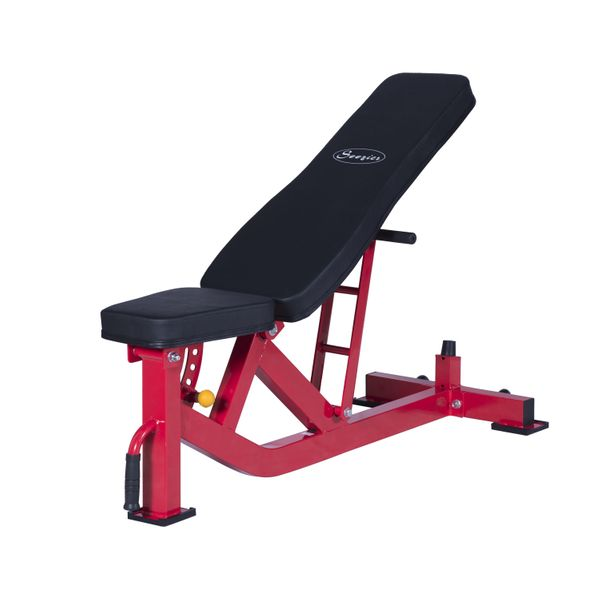 Soozier Ten-Position Adjustable Home Fitness Upper Body Weight Bench Abdominal Muscle Exercise Equipment Multi-purpose Power Tower  | Aosom