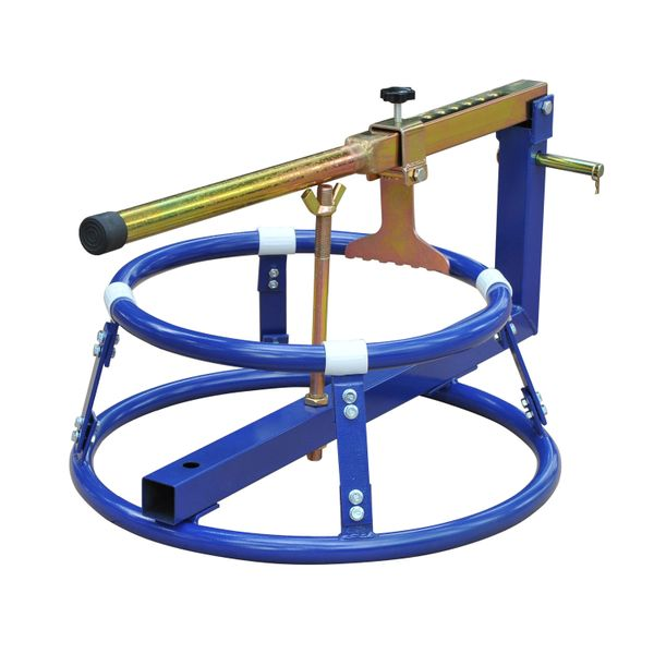 """HomCom 16"""" to 22"""" Motorcycle Tire Changing Stand w/ Adjustable Bead Breaker Tool / motorcycle tire changing stand   Aosom"""