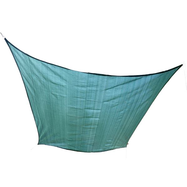 Outsunny 20 x 16' Rectangle Outdoor Patio Sun Shade Sail Canopy - Green / Outsunny Triangle /Rectangle/ Square UV Top Shelter Large outdoor sun shade | Aosom