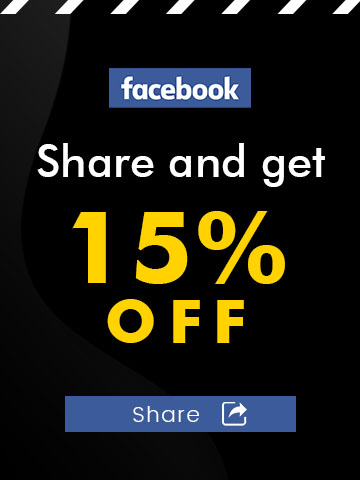 Share to Facebook and Get 10% Off